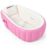 Portable Inflatable Baby Bath Tub Thicken Anti Slip Keep Warm Infant Bath Cushion Folding Child Swimming Pool