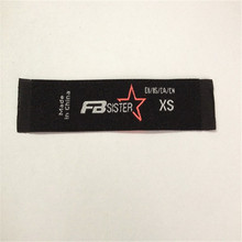 Customized Garment Woven Label For Clothing Main