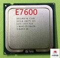 Для Intel Core 2 Duo E7600 Процессор 3.06 ГГц/3 М/1066 МГц Настольных LGA775 ПРОЦЕССОР работает 100% Бесплатная Доставка