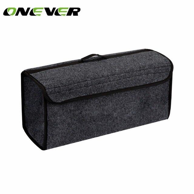 6606ddba3999 US $9.29 35% OFF Car Storage Box Foldable Car Seat Back Rear Travel Storage  Organizer Holder Bag Cargo Storage Portable and Auto Trunk Organizer -in ...