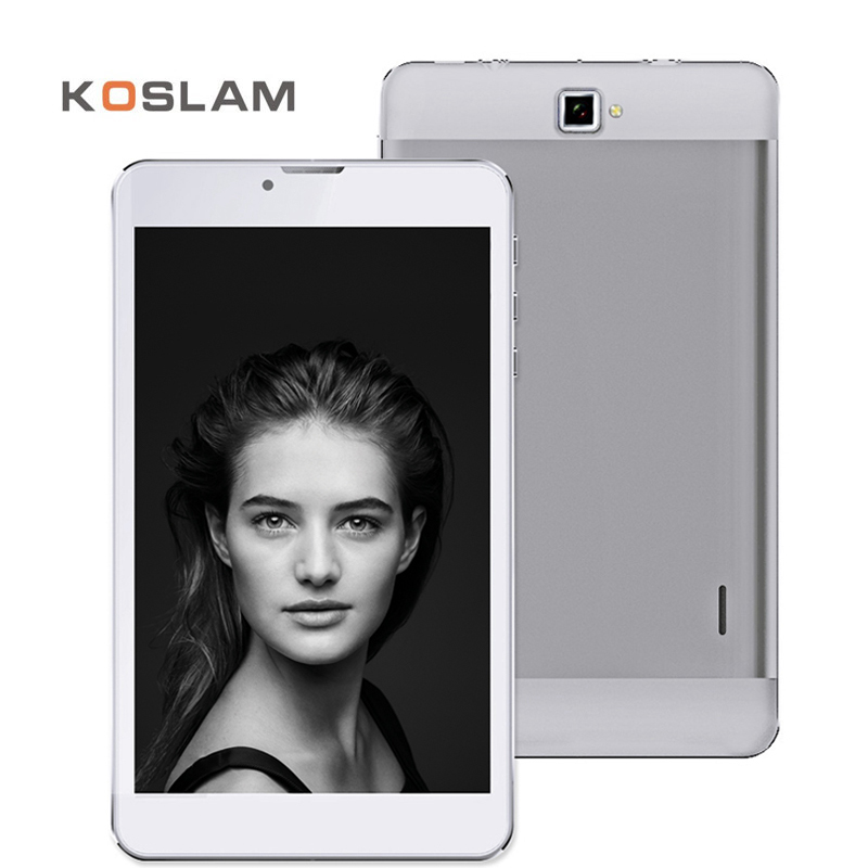 KOSLAM 7 Inch 3G Android 5.1 Mini Tablet PC 1280x800 IPS Screen Quad Core 1GB RAM 8GB ROM WIFI OTG 7 Mobile Phone Phablet lenovo a3000 7 ips quad core android 4 2 3g phone tablet pc w 1gb ram 16gb rom bluetooth black