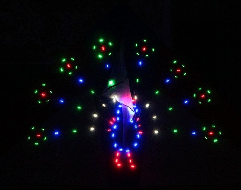 Высокое качество, 2 кв. м, 134 p светодиодная лампа, воздушный змей, павлин, воздушные змеи, игрушки, Romeo Juliet weifang kite factory