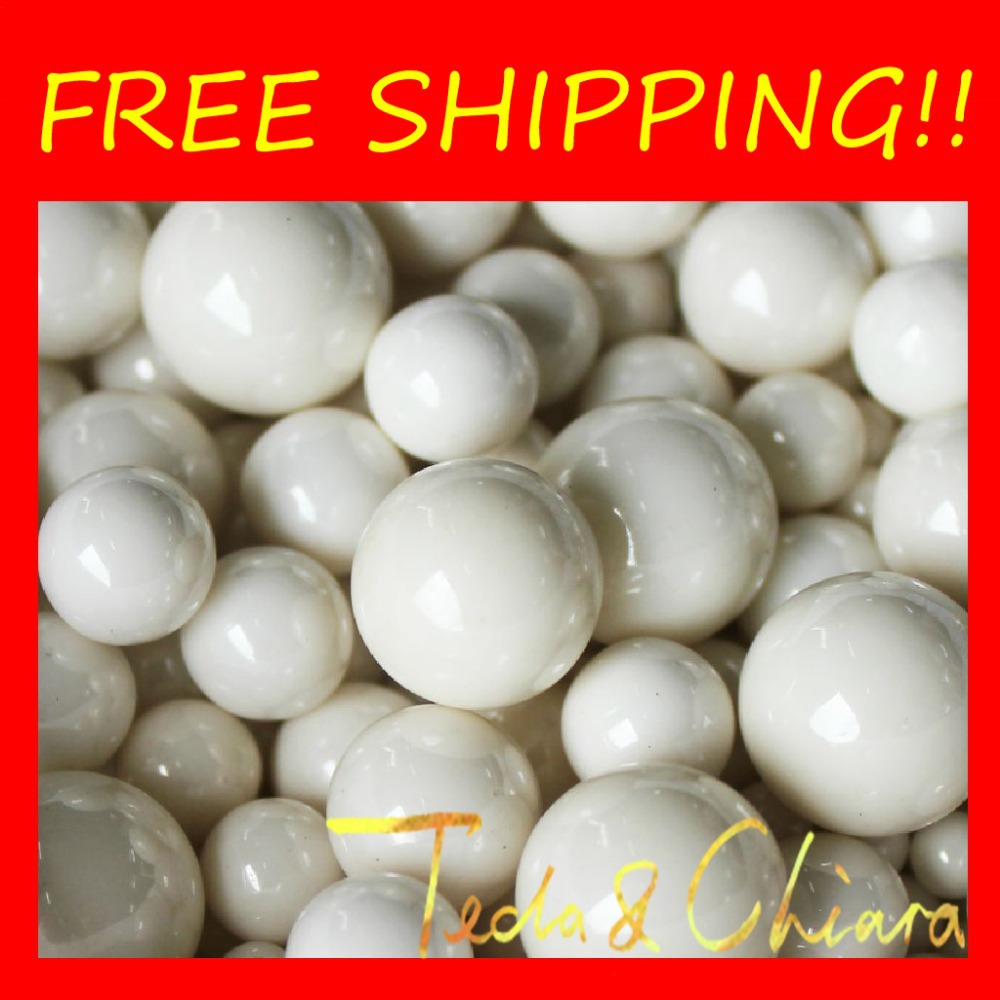 100pcs Dia 2mm Ceramic Bearing Ball ZrO2 Zirconia Oxide Ball