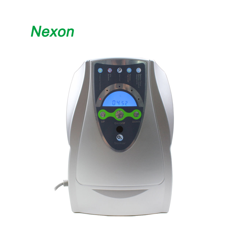 Nexon Portable 500mg 18W Fruit Washing Machine Desktop Ozone Water Purifier Air Purifier Ozonator ND-501MG nexon ce rohs household pre filtration 400mg 8w fruit washing machine ozone generator ozonizador nd 400mg