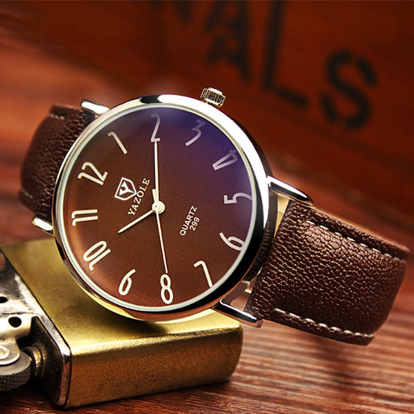 YAZOLE Business Quartz Watch Men Top Brand Luxury Famous New Wrist Watches For Men Clock Male Wristwatch Relog Relogio Masculino eyki top brand men watches casual quartz wrist watches business stainless steel wristwatch for men and women male reloj clock