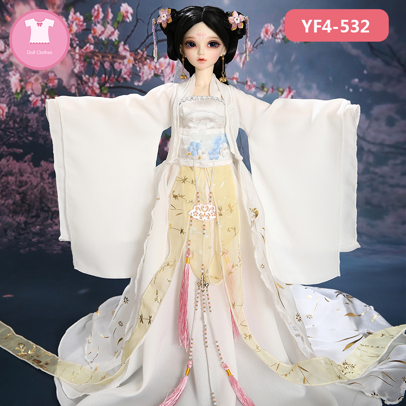 Doll BJD Clothes 1/4 Sexy Dress Beautiful Doll Clothes Summary Link For Minifee Fairyline Girl Body Doll Accessories Fairyland