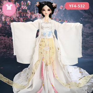 Doll BJD Clothes 1/4 Sexy Dress Beautiful Doll Clothes Summary Link For Minifee Fairyline Girl Body Doll accessories Fairyland(China)