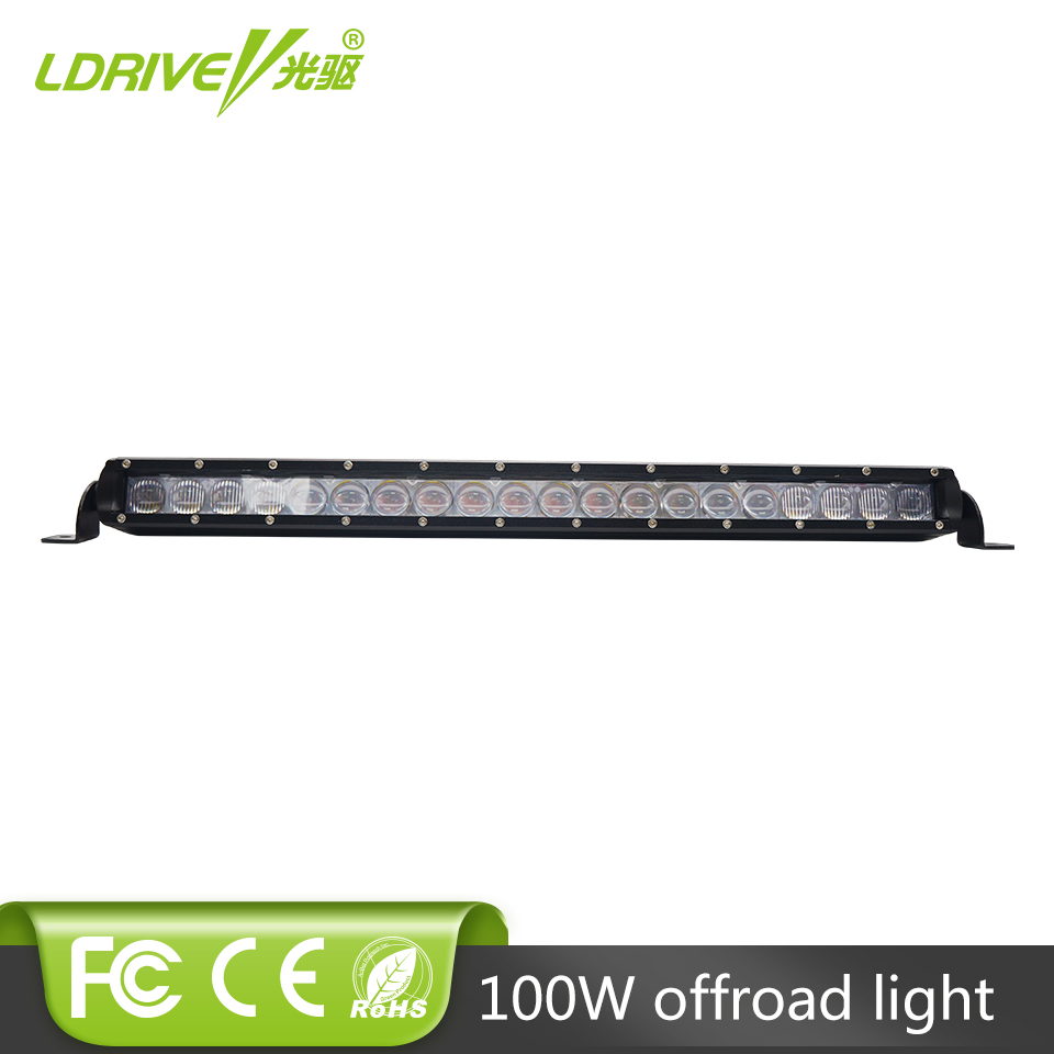 LDRIVE 21inch 100W CREE Chips LED Light Bar Combo Beam Off-road Lamp For Trailer Marine Truck SUV ATV LED Driving Work Light 5inch new led driving light 40w led headlight low beam lamps for car truck suv atv marine new external light x2pcs free shipping