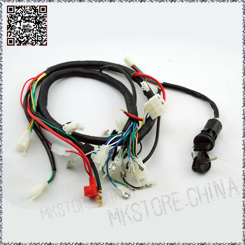 popular lifan wiring buy cheap lifan wiring lots from lifan 250cc key barrel quad wiring harness 200 250cc chinese electric start loncin zongshen ducar lifan
