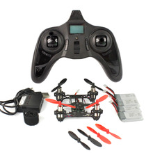 Feichao Mini Tiny QX80 DIY Drone 80mm Carbon FPV Brushed Indoor RC Quadcopter RTF Assemble Kit Full Set No Camera
