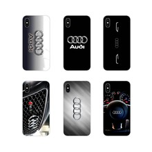 Audi Car Logo Accessories Phone Cases Covers For Huawei G7 G8 P7 P8 P9 P10 P20 P30 Lite Mini Pro P Smart Plus 2017 2018 2019(China)