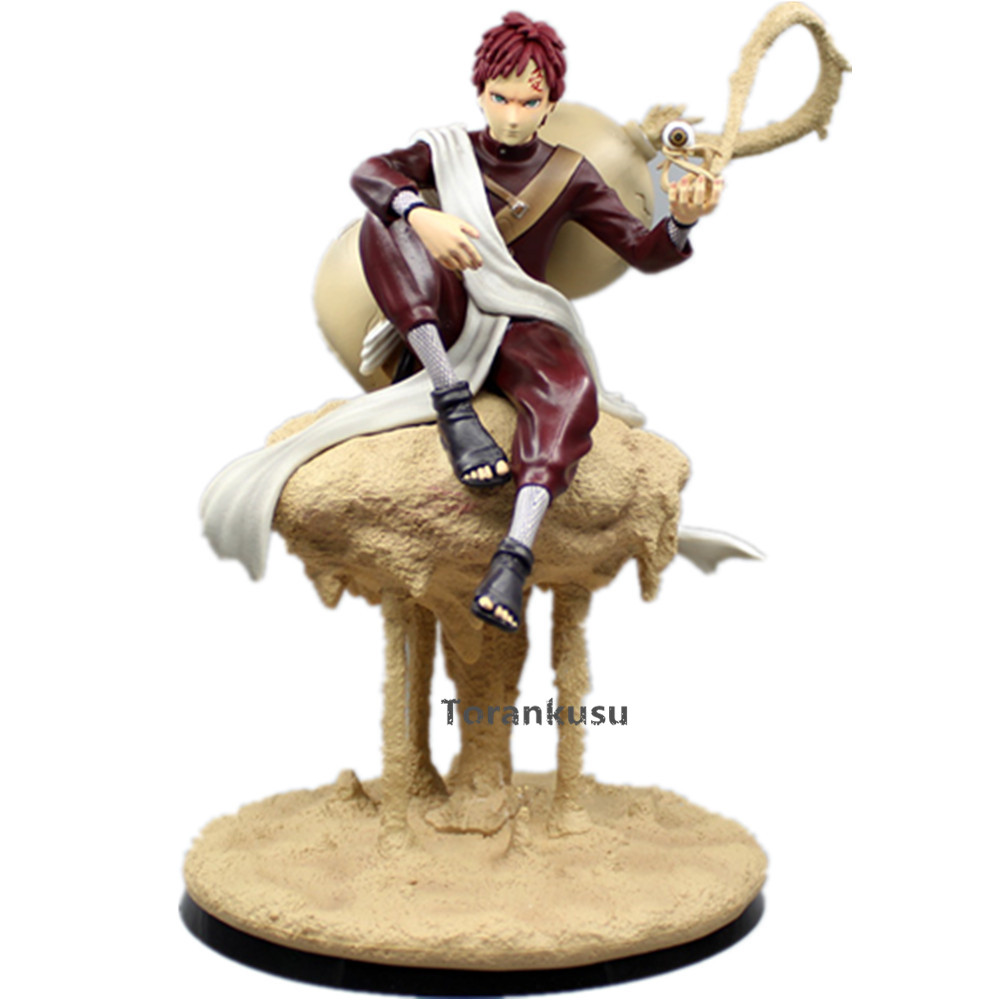 Anime Naruto Action Figure Gaara PVC Figurine Diorama Model Toys Naruto Shippuden Gaara Sand cloud Collection Model Toy