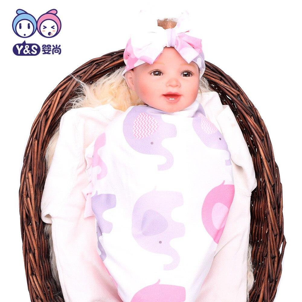 Wisbibi 2pcs / set! Pasgeboren Mode Baby Inbakeren Deken Baby Slapen - Beddegoed - Foto 2
