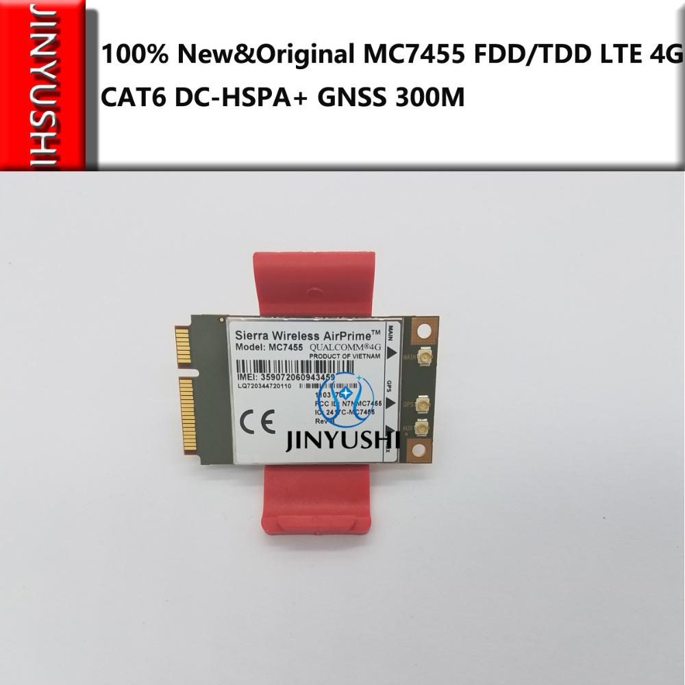 Sierra Wireless MC7455 new&original  not  second hand AirPrime FDD/TDD LTE 4G CAT6 DC-HSPA+ GNSS CAT6 For DELL E7240