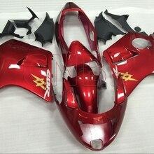 Обтекатели CBR1100 XX 1996-2005 красные Обтекатели CBR 1100 XX 2000 Пластиковые обтекатели CBR 1100 XX 2000 без краски