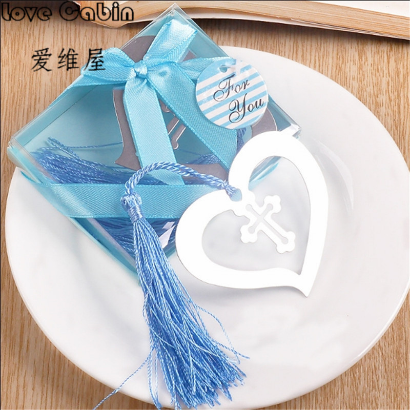 Heart Flower Metal Bookmark Heart Bookmark For Kids Party Favor Giveaway Baby Shower Souvenirs Wedding Favour And Gift For Guest