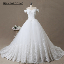 SIJANEWEDDING Vestidos de Noiva Lace Wedding Party Dress