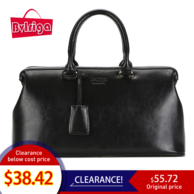 Bvlriga white women genuine leather bag female bag women handbag brand luxury leather 2019 ladies hand bag doctor black designer