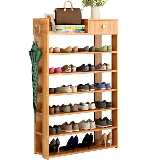 Simple Home Storage Cabinets Shelves Affordable Multi Function Dust Proof  Shoe Rack Entrance