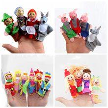 Кукольный театр Три поросенка замок русалки принцесса детская сказка пальчиковые куклы Развивающие игрушки для детей подарки на день рождения