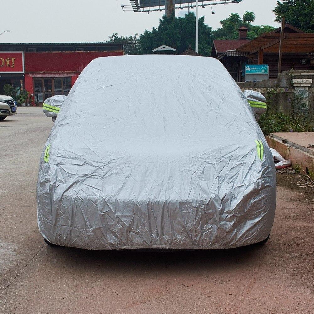 La neige extérieure en Nylon de bâche de voiture complète couvre la couverture de véhicule d'accessoires automatiques de Protection de 1 pièces