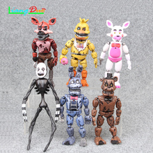1Pcs Random Five night at freddy's 10cm FNAF Actiefiguren Fazbear Foxy action figure toys for children festival geschenken