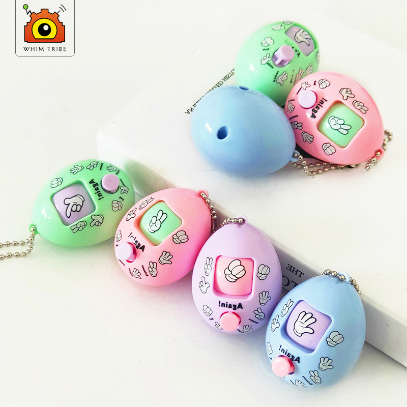 Guess Boxing Eggs Rock Scissors Cloth Game Boxing Keys Links Hangers Egg Twisting Toys Party Games Funny Gadgets
