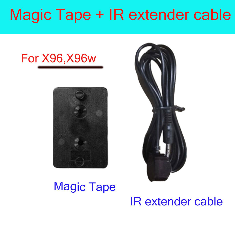 IR extend cable and magic tape for android tv box X96 X96W
