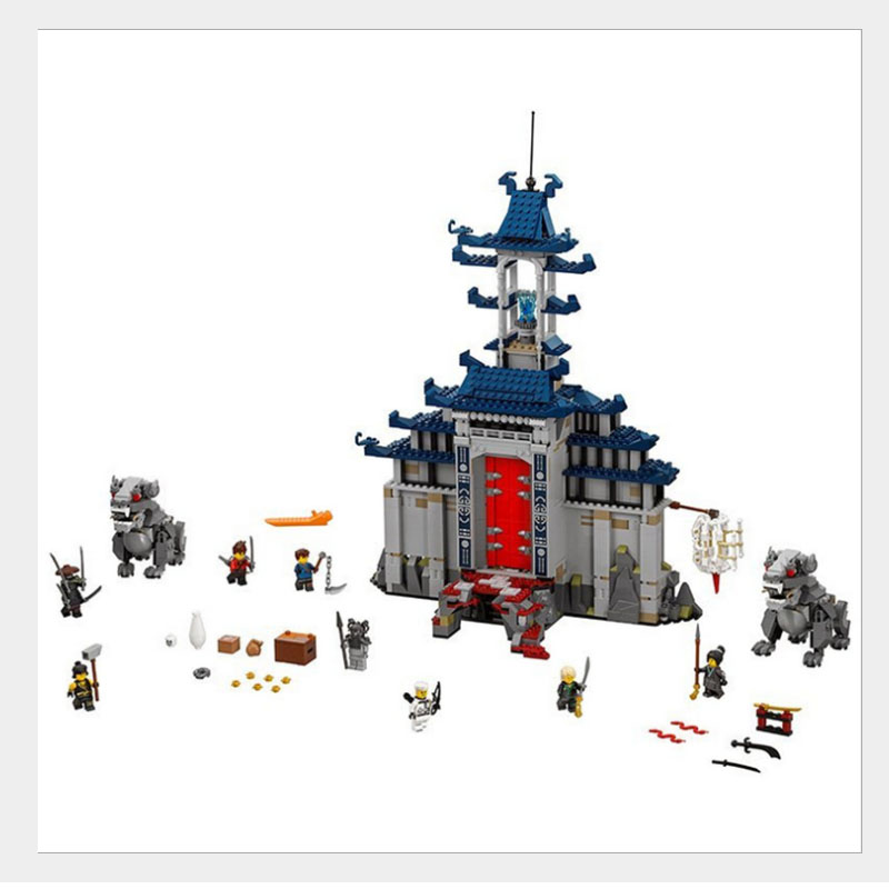 lepin 06058 1501pcs Movie Temple of The Ultimate Weapon Building Blocks bricks DIY baby Toys children Gift Compatible 70617 lepin 06058 ninja serie die tempel der ultimative ultimative waffe modell bausteine set kompatibel 70617 spielzeug fur kinder