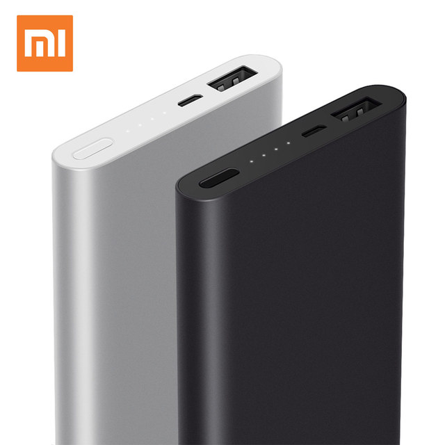 Оригинал Xiaomi Power Bank 2 10000 мАч Ми Powerbank Внешняя Батарея Micro USB Портативный Bateria Externa Портативное Зарядное Устройство