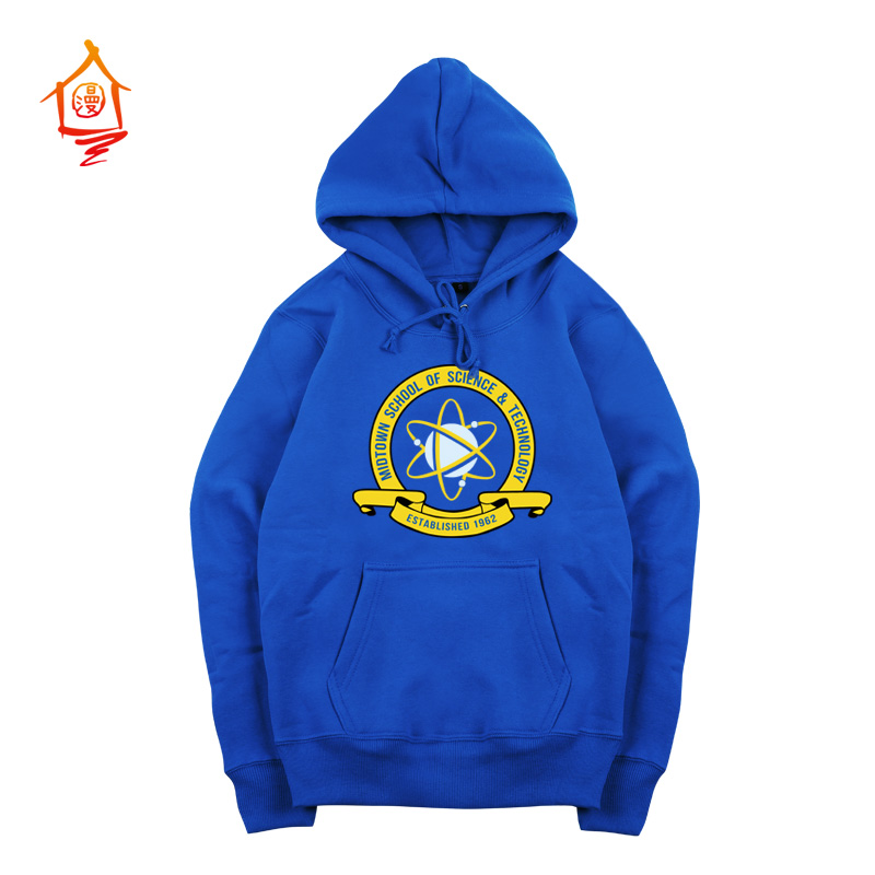 [STOCK] 2017 Movie Spiderman Homecoming Peter Parker Blue Cosplay Costume Sweatshirt For Halloween Unisex S-XXL Free Shipping
