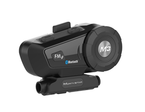 Image 4 - Helmet Bluetooth Headset Motorcycle Mornystar M3 Plus Multi functional Stereo Headphones For Two Way Raido Easy Rider Series