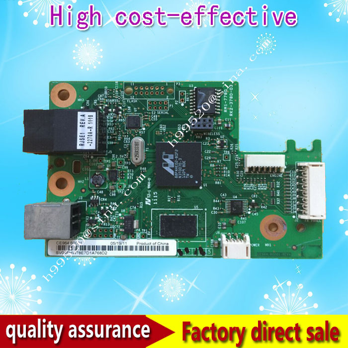 CE964-60001 Formatter Board For HP CP1025NW CP 1025NW Formatter Pca Assy logic Main Board MainBoard mother board new formatter pca assy formatter board logic main board mainboard mother board for hp cp1210 cp1215 1210 1215 cb505 60001
