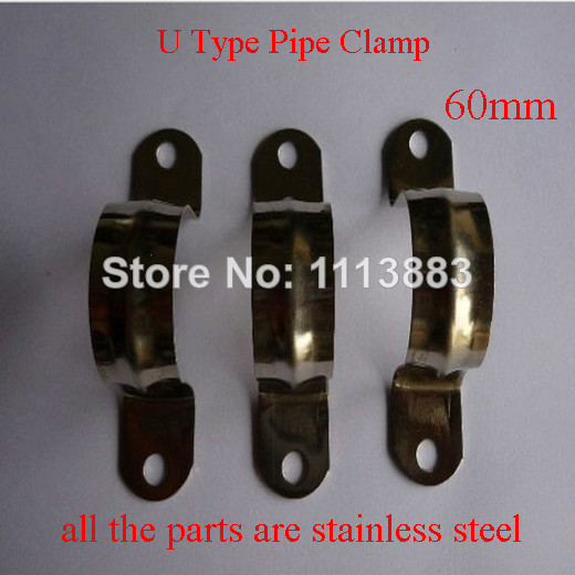 Aliexpress buy mm saddle clamps stainless steel