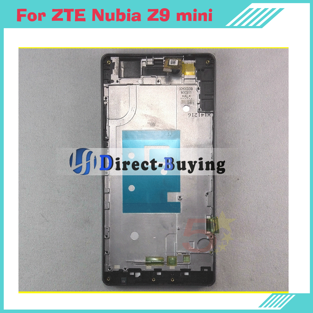 With Frame For Zte Nubia Z9 Mini Lcd Display Touch Screen Original Digitizer Assembly Replacement Nx511j Free Shipping In Mobile Phone Lcds From