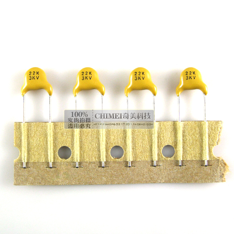 High-voltage Ceramic Capacitors 3KV 22 Capacitor Used To Eliminate High-frequency Interference