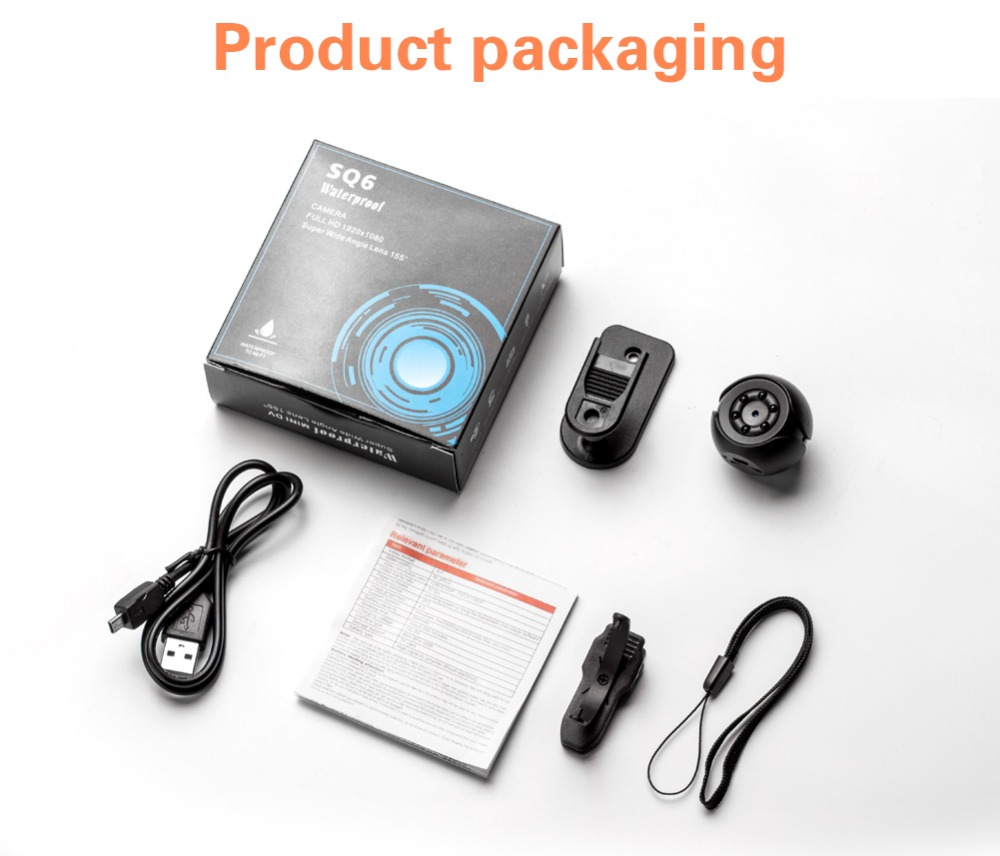 StealthPRO Mini 1080p HD Camera with Built in DarkVision Technology and Motion