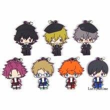 Ensemble Stars Rubber pendant Sakuma anime Action Toy Figures Key chain Mobile Phone Accessories strap Bag ornaments Keychain