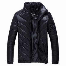2017 New Men's Winter Jacket Casual Warm Coat Male Stand Collar Parkas Men Cotton Jackets Fashion Thermal Brand Clothing LA069