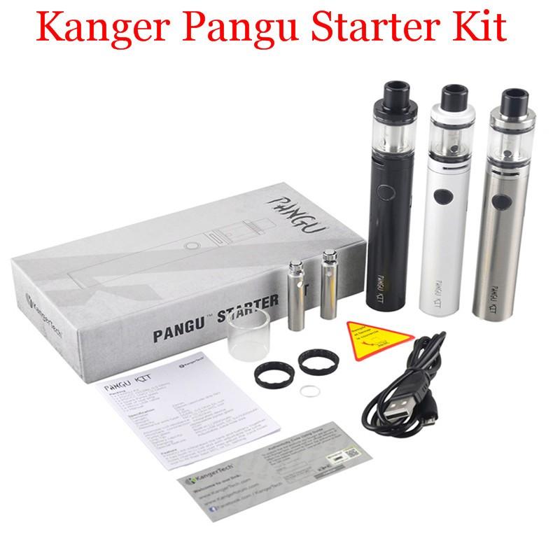 Original Electronic Cigarette Kits Kanger Pangu Kit 3.5ml Liquid Capacity 2500mah Built-in Battery Capacity with PGOCC Coil YY (5)