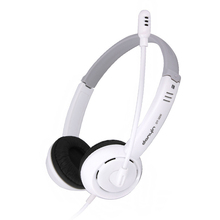 High Quality Light 3.5mm Wired Headphone Stereo For Laptop Desktop Computer With Microphone Mic,Headband Earphone For Gaming