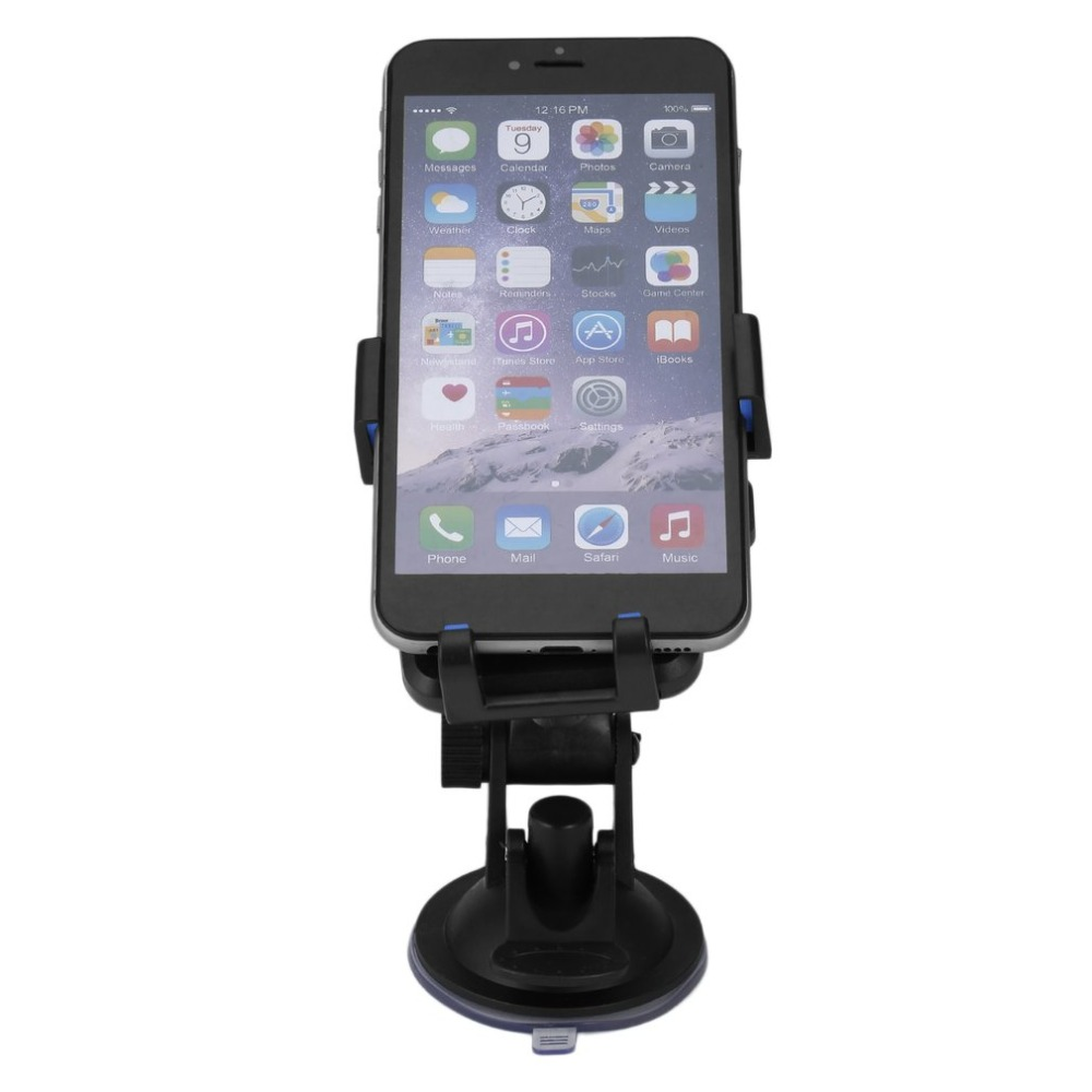 Universal Rotatable Strong Suction Mobile Phone Stand Holder Support Desktop Car Vehicles Cell Phone Racks Accessory in Phone Holders Stands from Cellphones Telecommunications