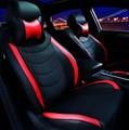 Cuero del asiento de coche especial cubre Para Ford fiesta fusión mondeo Focus 2 3 Fiesta kuga Edge Explorador accesorios car styling