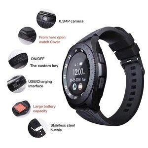 Image 3 - Z4 montre de téléphone intelligent Android SIM TF carte Dail appel rond écran tactile bluetooth 3.0 montres hommes dame Fitness santé Smartwatch