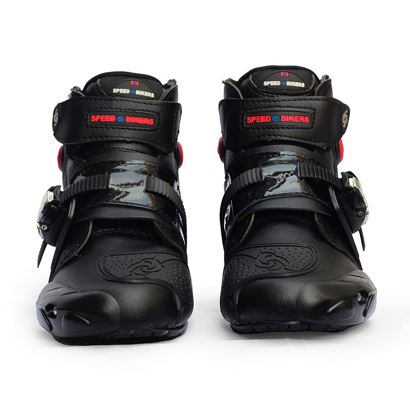 Professional Motorcycle Boots Motocross Shoes Racing Speed Motorbike Shoes Moto Boot Riding Boots Ankle Men Cycling Sports Botas