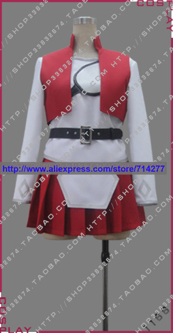 Free shipping Custom cheap Red Asuna Cosplay Costume (Daily) from Sword Art Online Anime