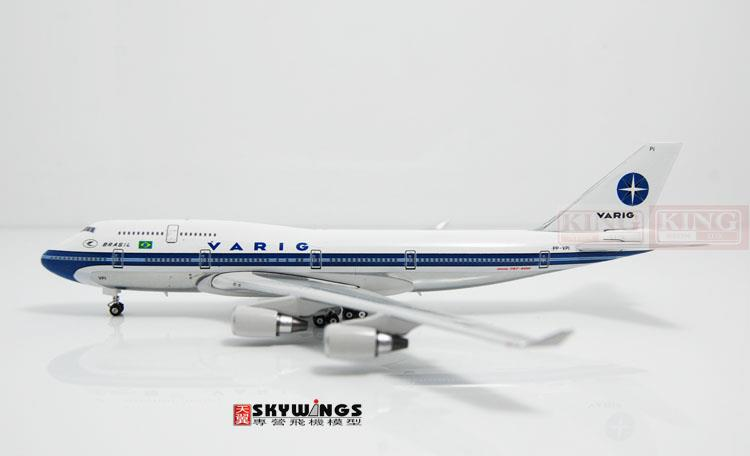 Phoenix 10705 Brazil Airlines PP-VPI 1:400 commercial jetliners plane model hobby B747-400 spike wings xx4502 jc turkey airlines b777 300er san francisco 1 400 commercial jetliners plane model hobby