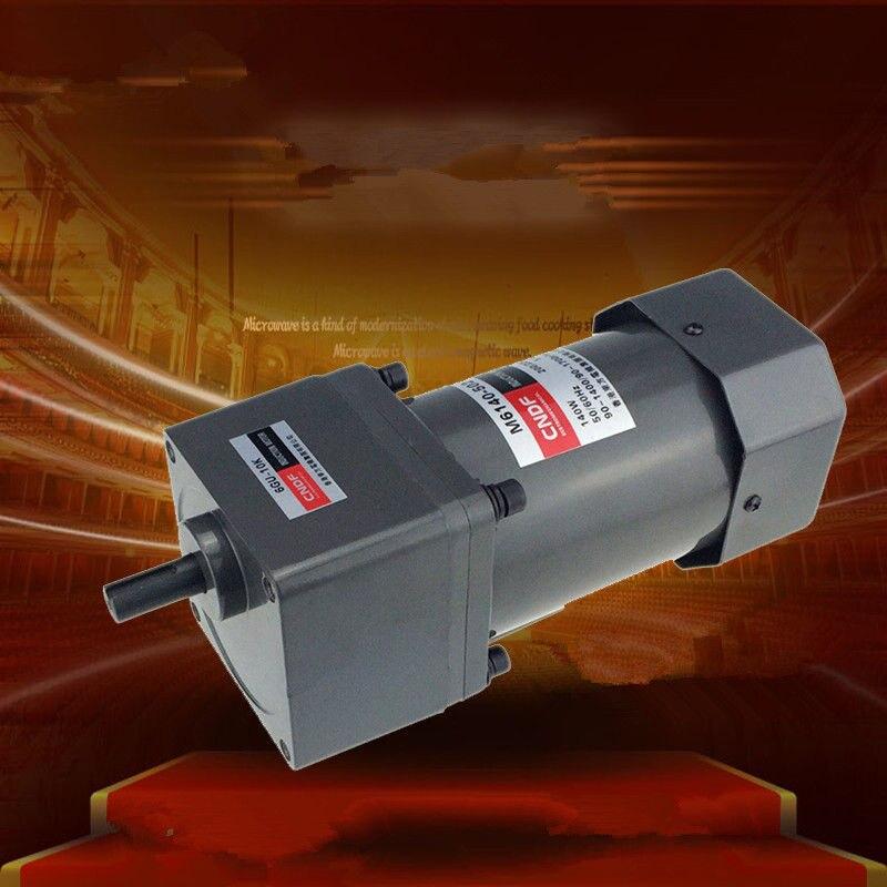 цена на Single phase 110V/115V 220V/230V AC Vertical Gear Motor Adjust the speed 140W M6140 6GU 7RPM-450RPM
