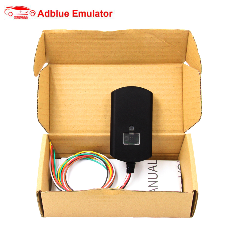 AdblueOBD2 Emulator for Volvo EURO 6 Diesel Trucks Diagnostic Interface AdBlue Emulator EURO6 NOX Emulation for