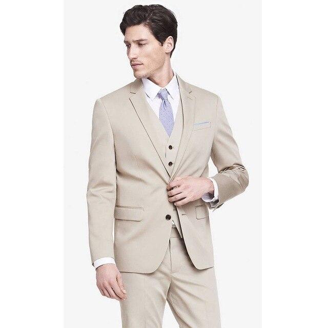 2018 хит продаж, мужской костюм цвета шампанского из 2 предметов, пальто + штаны, деловое платье для шафера